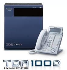 Khung tổng đài điện thoại panasonic KX-TDA100D