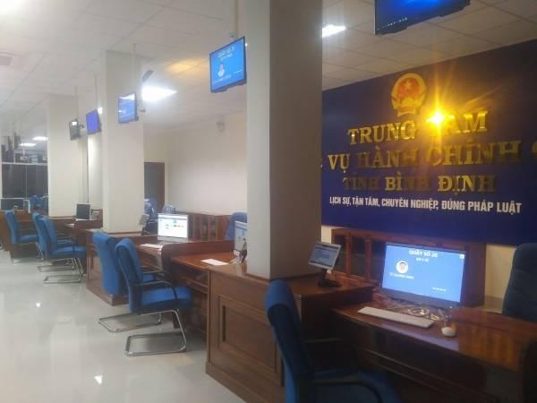 Thành lập Trung tâm Phục vụ hành chính công tỉnh Bình Định