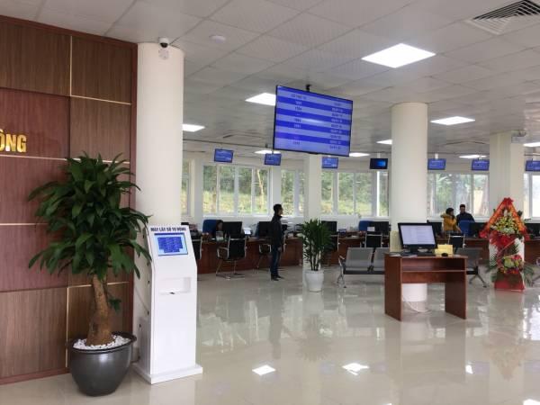 Khai trương Trung tâm phục vụ hành chính công tỉnh Lạng Sơn