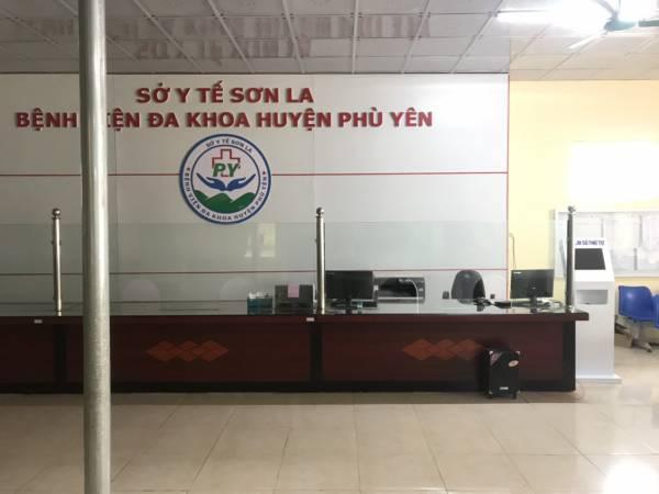 VNC QMS SOFT ngày 20/0/2019 hoàn thiện việc sản xuất, cung cấp lắp đặt hệ thống xếp hàng tự động tại TTYT Huyện Phù Yên - Sơn La