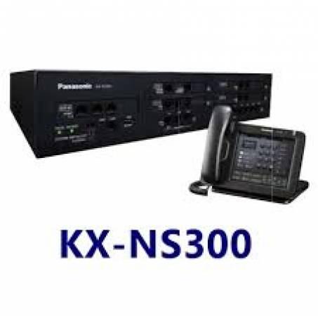 Tổng đài Panasonic KX-NS300 cấu hình 6 vào 32 ra