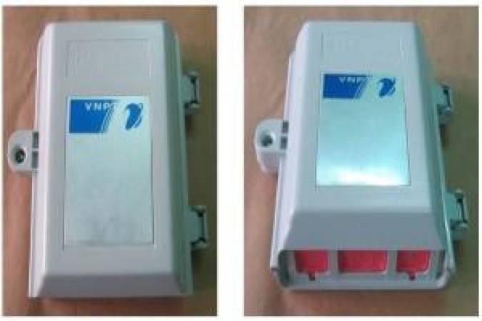 Hộp cáp điện thoại 30 đôi | tủ đấu dây IDF 30 đôi, 30x2, 30 Pair - POSTEF HC2TM