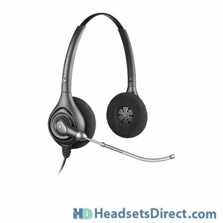 Plantronics HW261 SupraPlus Binaural Corded Headset