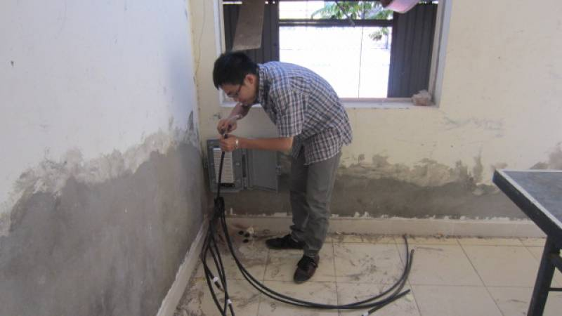 Sửa chữa tổng đài điện thoại panasonic KX-TDA200