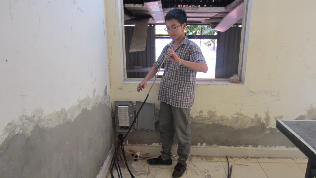 Sửa chữa tổng đài Panasonic KX-TDA200 không dây