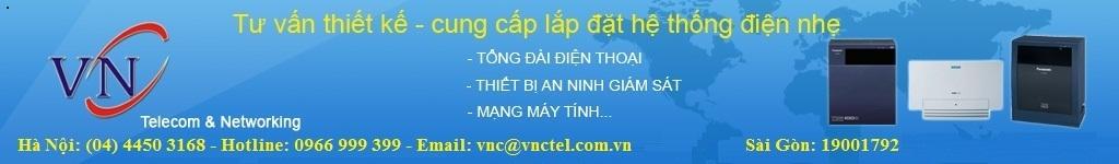 Tong dai dien thoai, VNCTEL lắp đặt tổng đài điện thoại