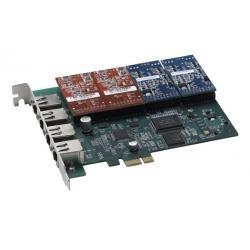 Card giao tiếp 4 cổng tổng đài IP asterisk khe cắm PCIe