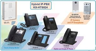 Panasonic kx-hts824 với 4 vào 16 máy nhánh