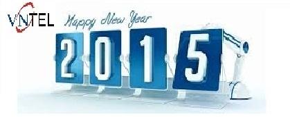 VNCTEL chúc mừng năm mới 2015